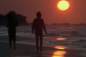 Int #162-Cuba-Havana-beach sunset