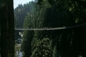 Railways #45-Bc-Capilano bridge